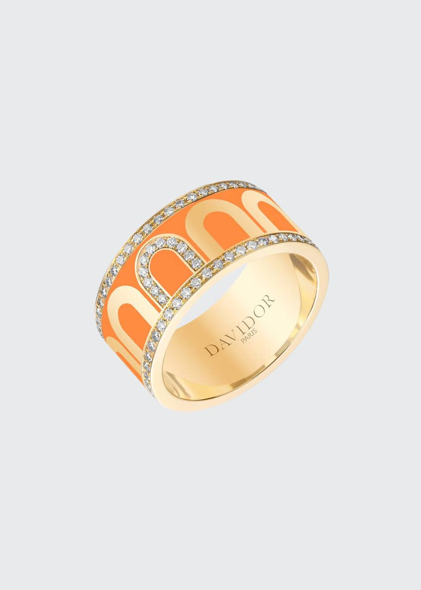 L'Arc de Davidor 18k Gold Porta Diamond Ring