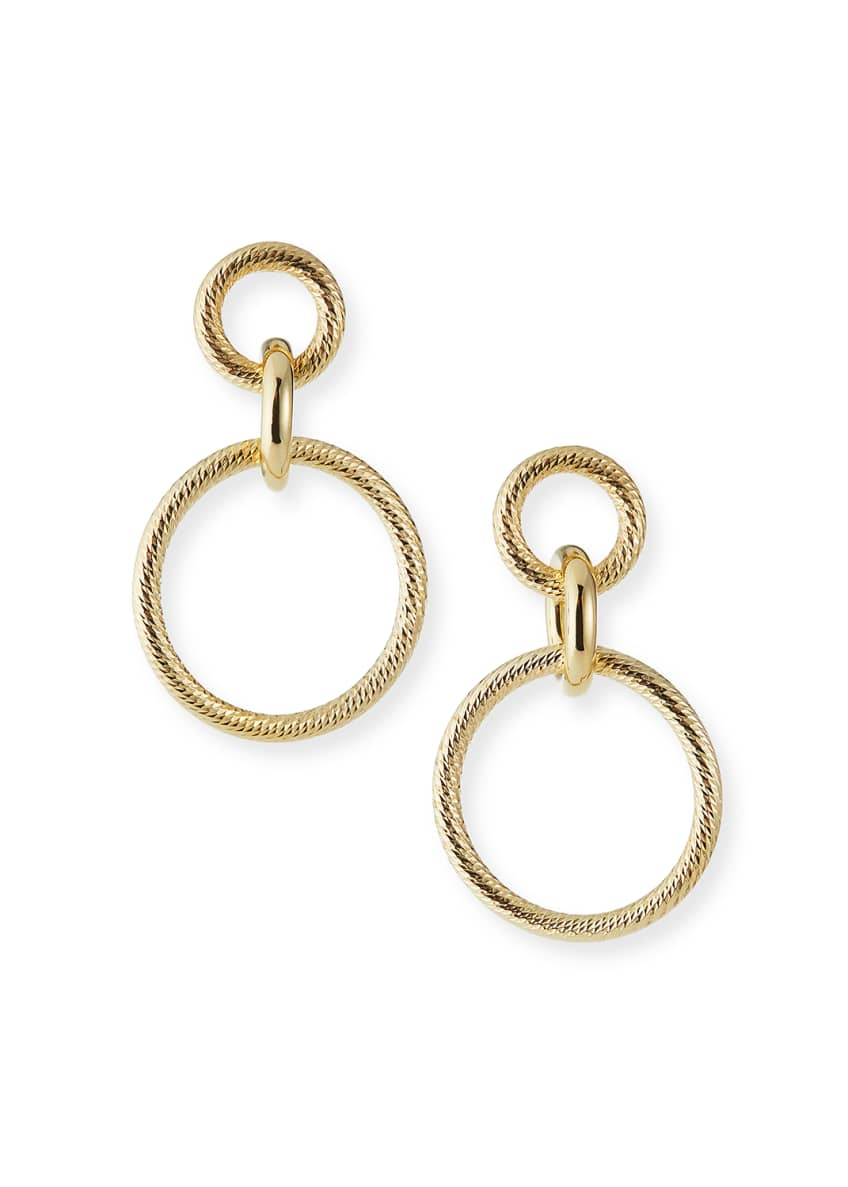 Jennifer Zeuner Wes Hoop-Drop Earrings