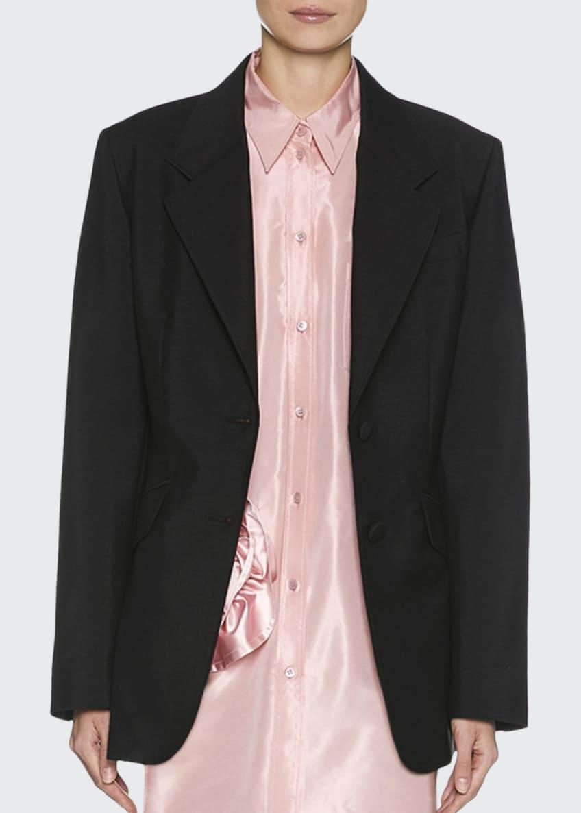 Miu Miu Mohair Two-Button Jacket & Matching Items