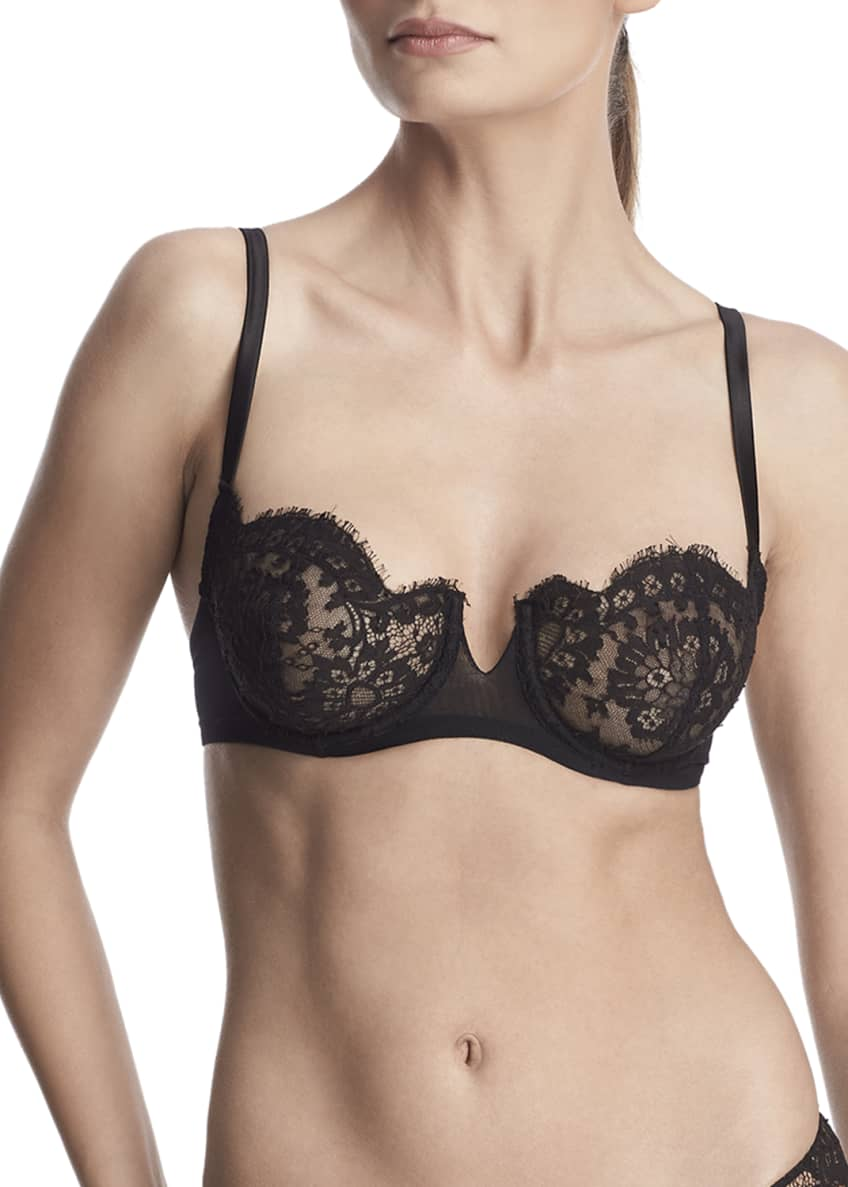 I.D. Sarrieri Madeline Unlined Lace Demi Bra &
