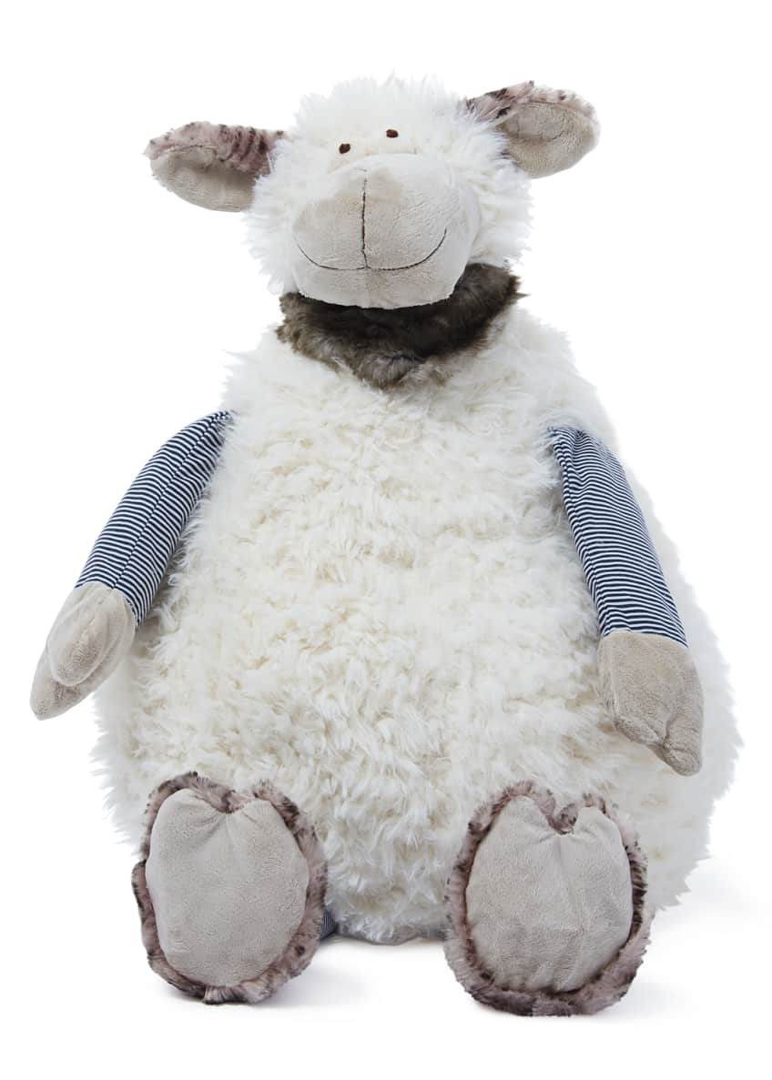 Image 2 of 2: Simone The Plush Sheep