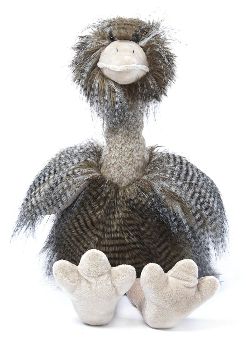 Image 2 of 3: Oliver The Plush Ostrich