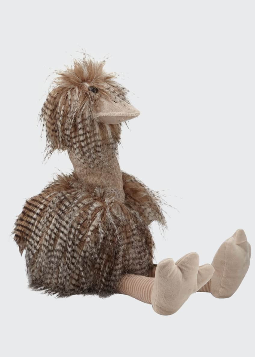Image 1 of 3: Oliver The Plush Ostrich