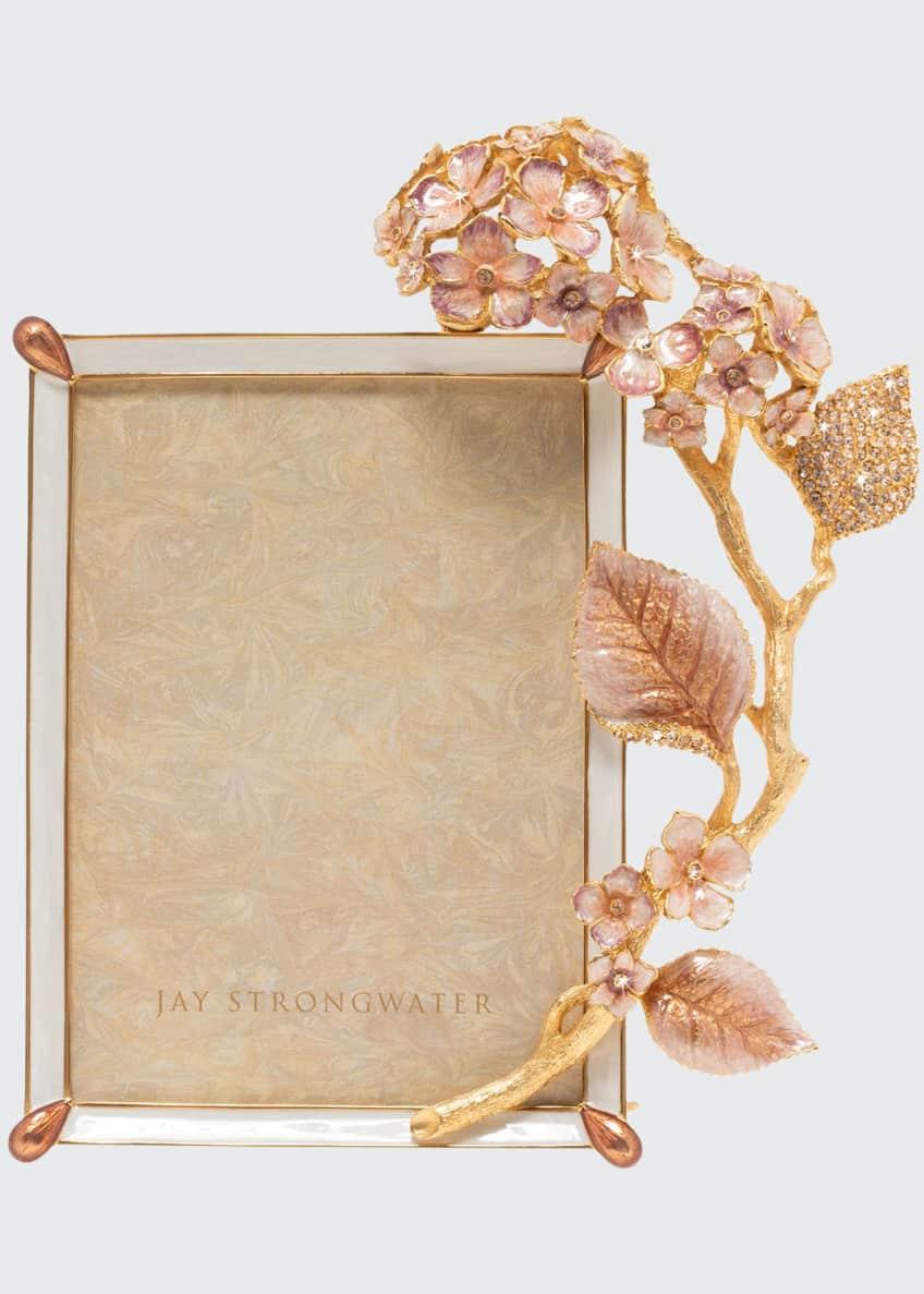 Jay Strongwater Boudoir Hydrangea Frame, 5