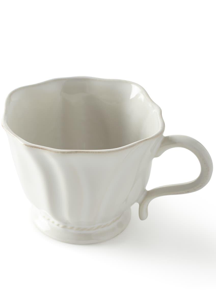 Juliska Madeleine Whitewash Cereal/Ice Cream Bowl