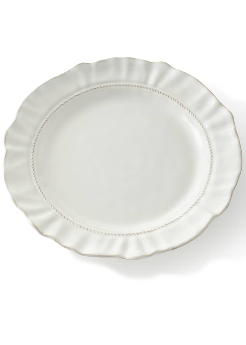 Juliska Madeleine Whitewash Dinner Plate