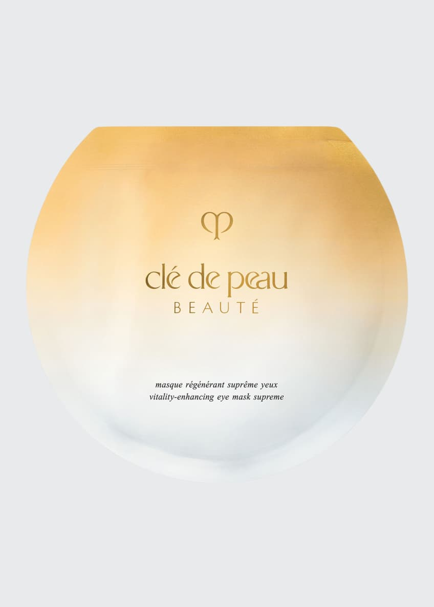 Cle de Peau Beaute Vitality Enhancing Eye Mask Supreme, 6 Sheets - Bergdorf Goodman