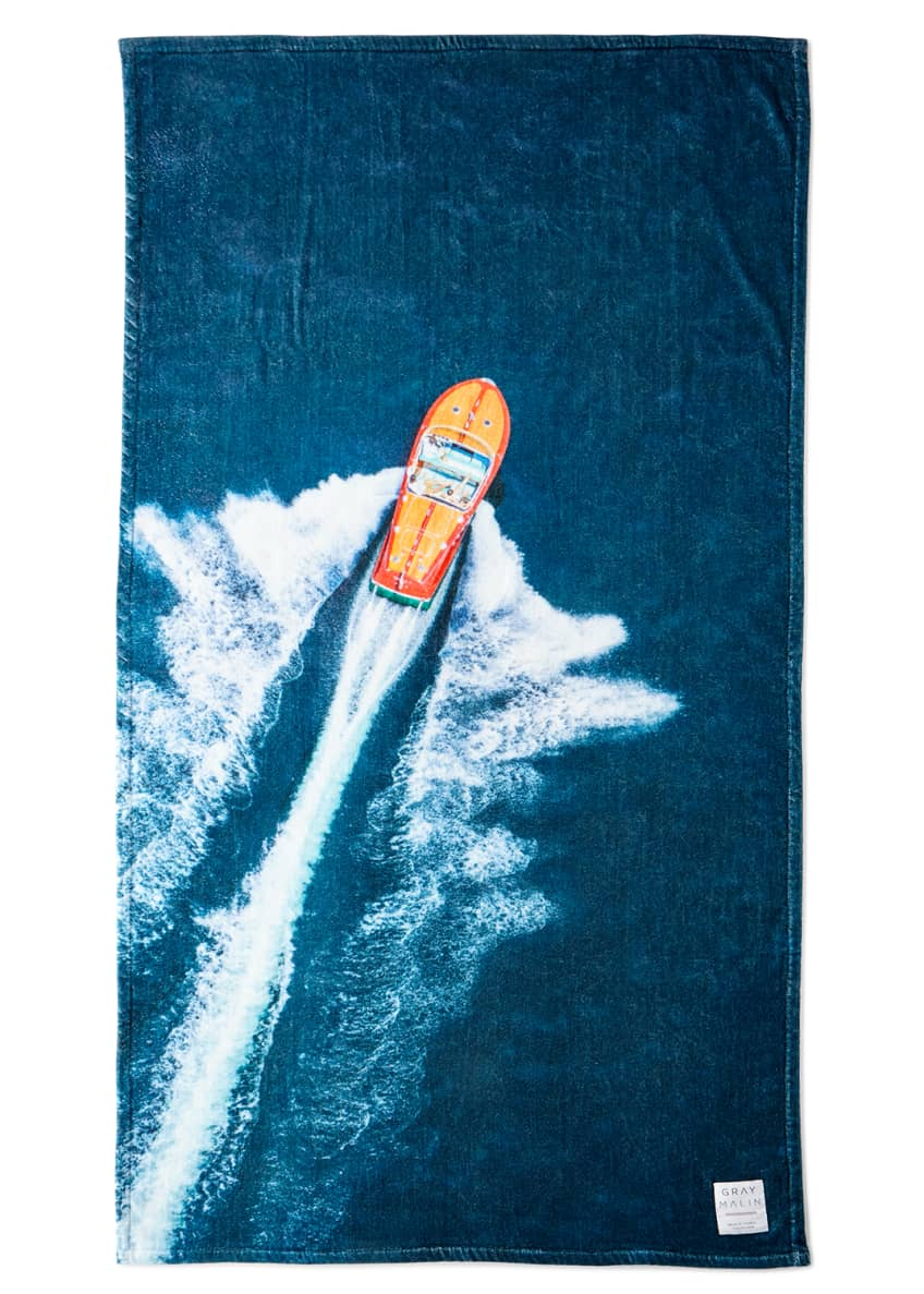 Gray Malin The Lake Como Beach Towel