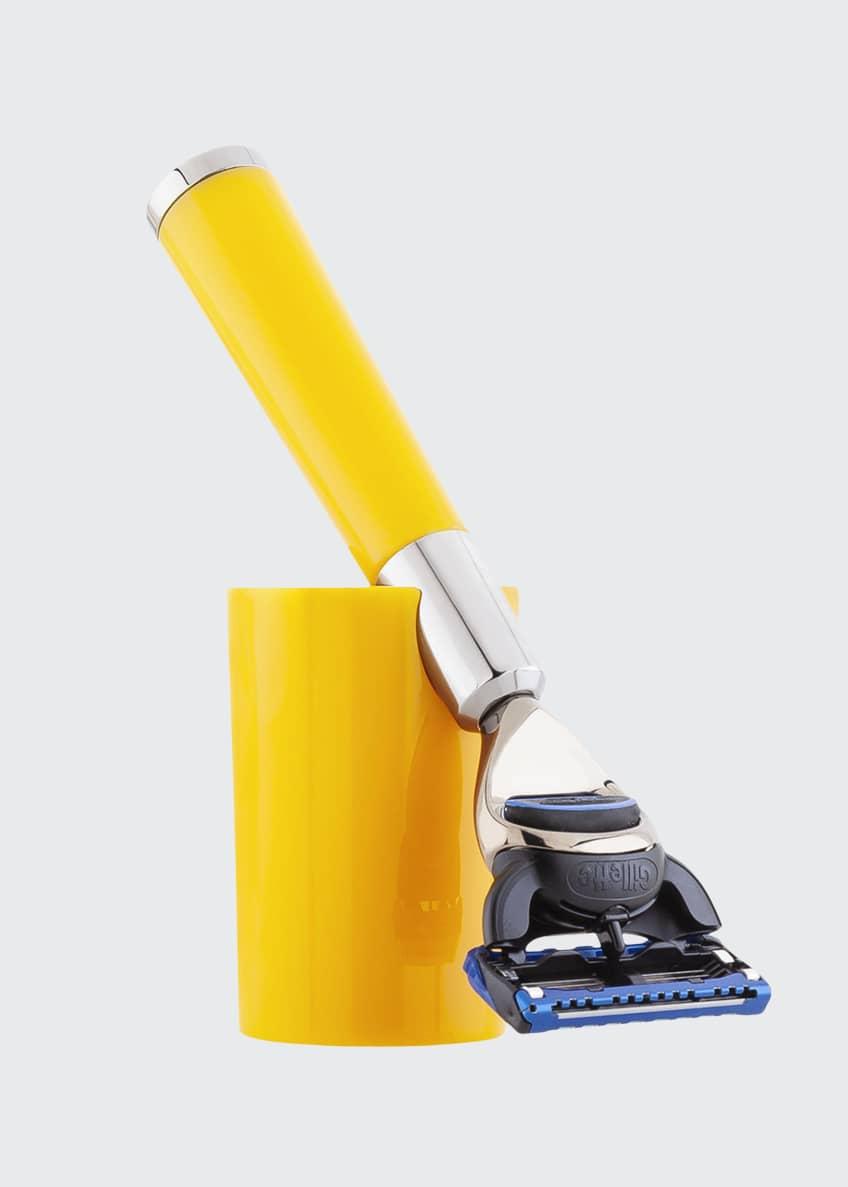 Acqua di Parma Barbiere Yellow Shaving Razor - Bergdorf Goodman