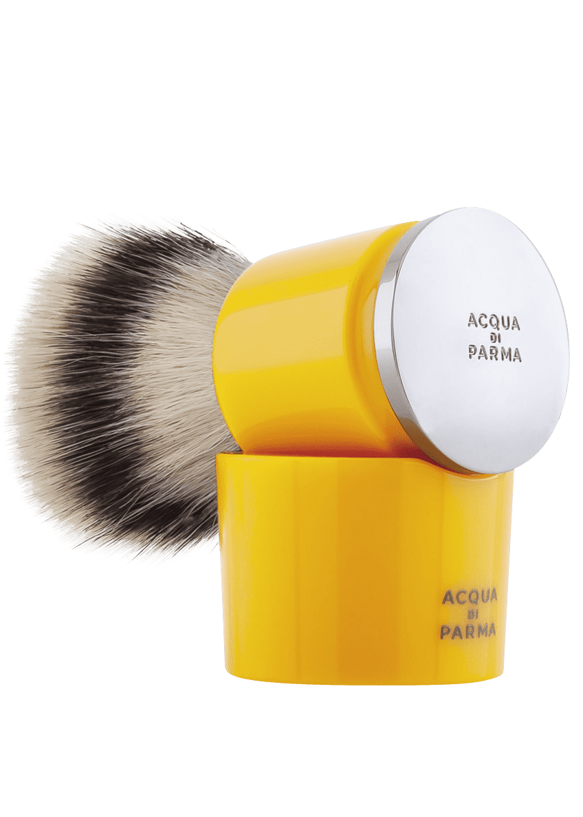 Acqua di Parma Barbiere Yellow Shaving Brush - Bergdorf Goodman