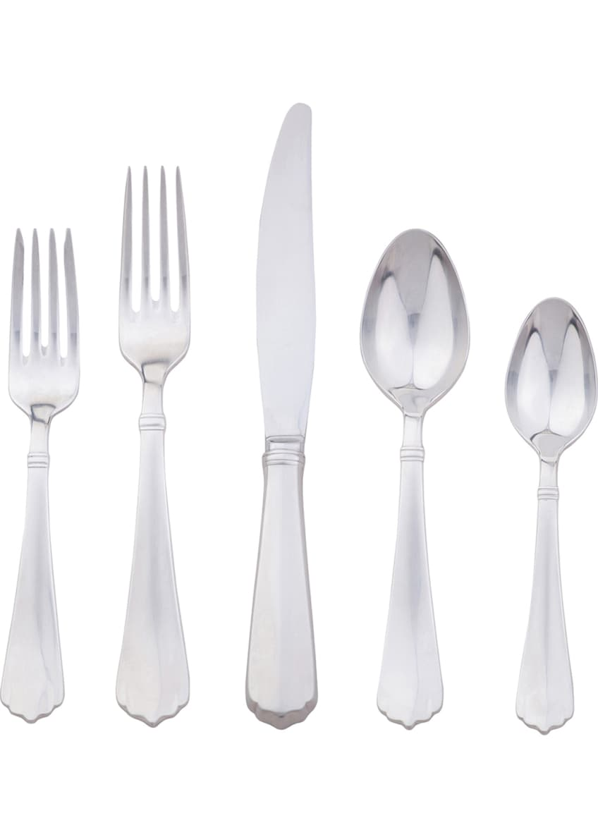 Juliska Kensington Bright Satin 5-Piece Flatware Place Setting