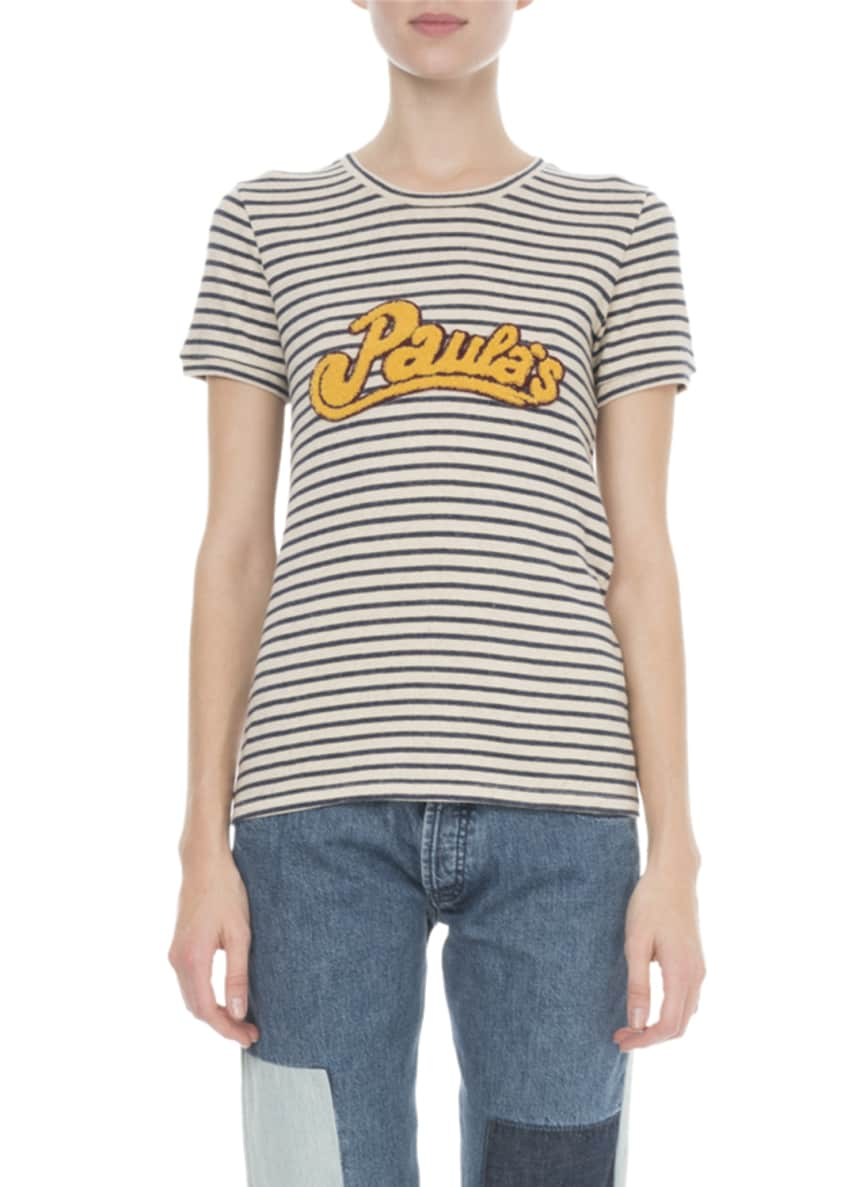 Loewe x Paula's Ibiza Striped T-Shirt & Matching