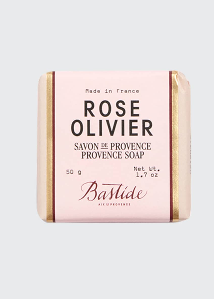 Image 1 of 2: Rose Olivier Artisanal Provence Soap, 1.7 oz / 50 g