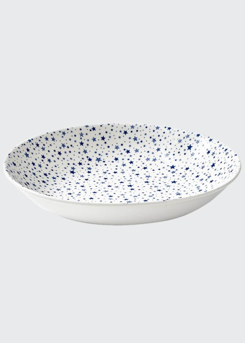 Ralph Lauren Home Midnight Sky Pasta Bowl, White/Blue