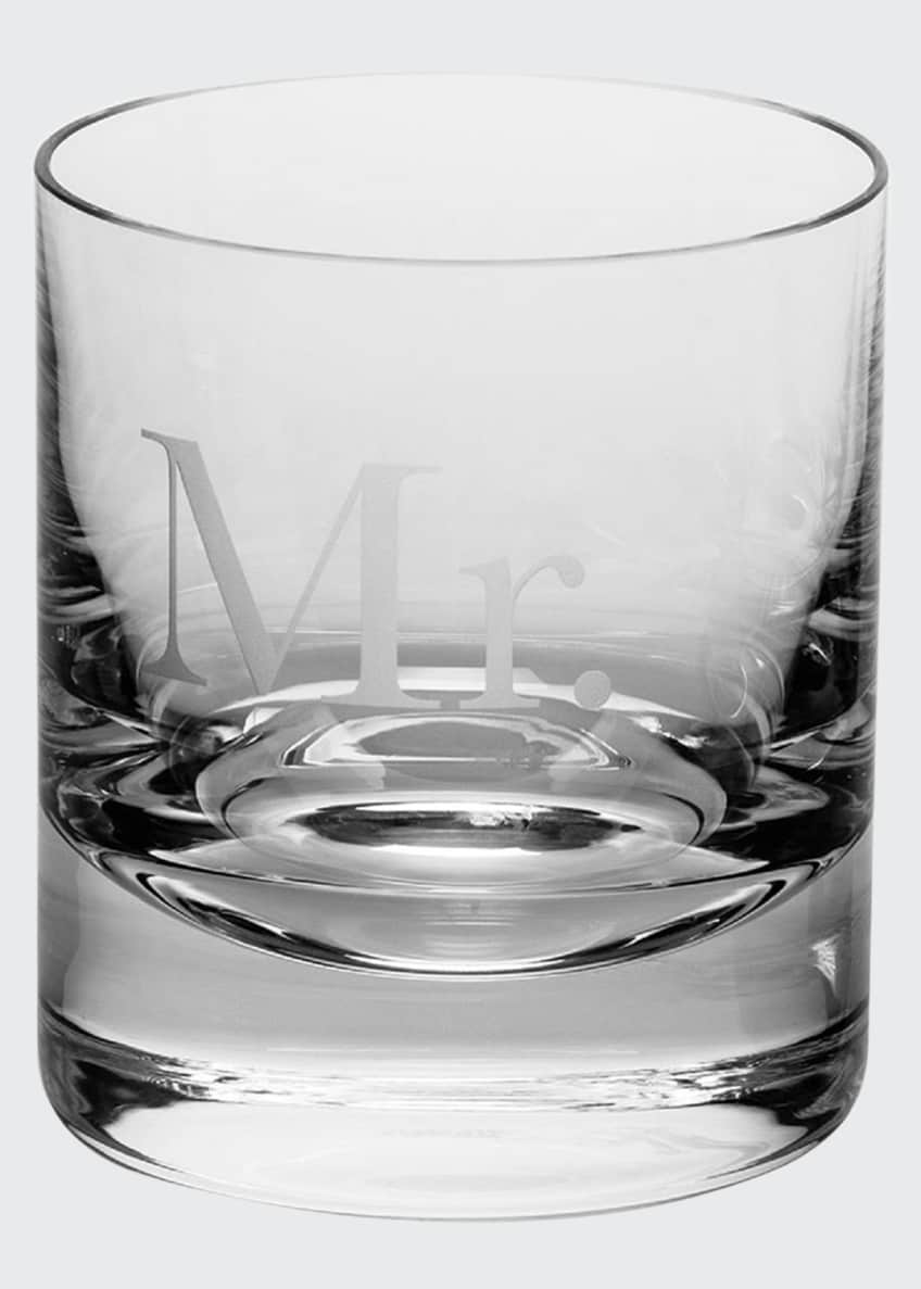Image 1 of 2: Mr. Whiskey Double Old-Fashioned Glass