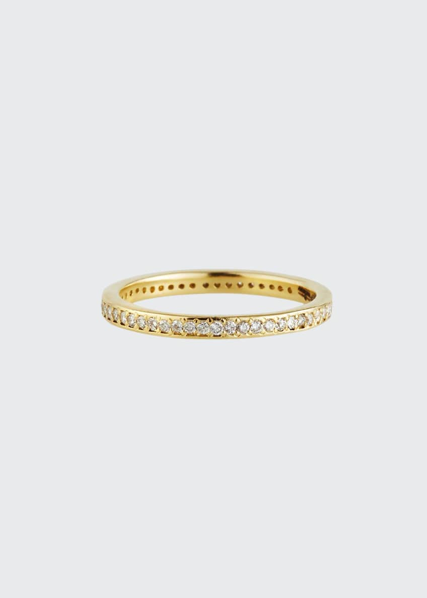 Armenta Sueno 18k Gold Stack Band w/ Diamonds,
