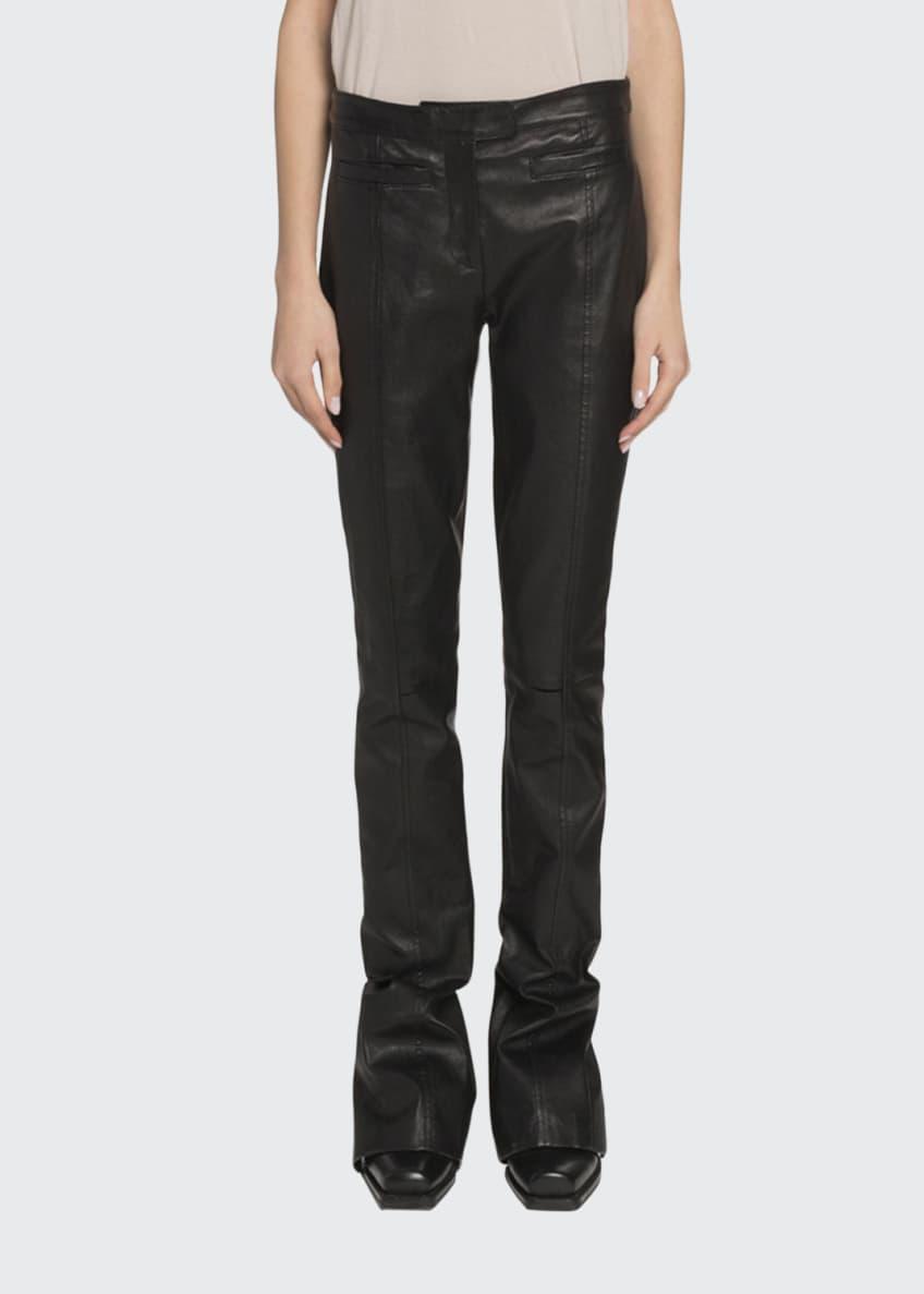 Proenza Schouler Velvet Tie-Dye Long-Sleeve Top & Matching