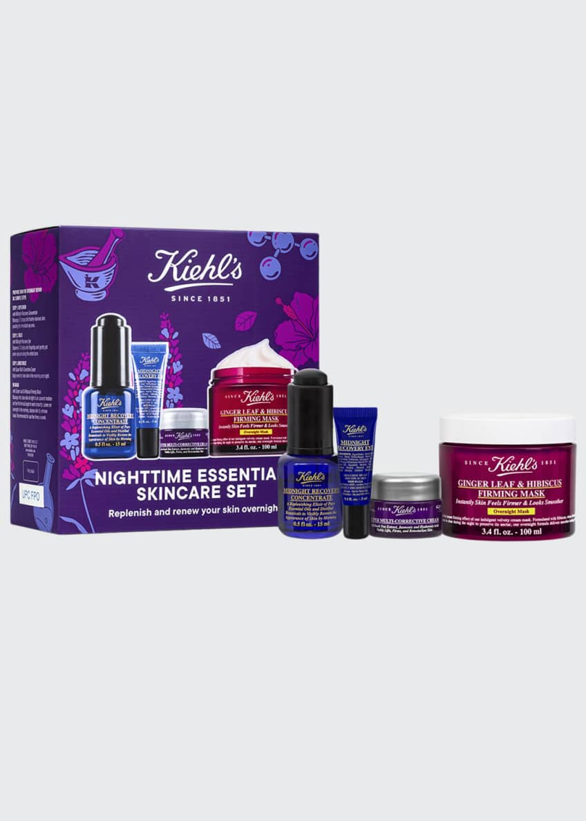 Image 1 of 2: Nighttime Essentials Skincare Kit