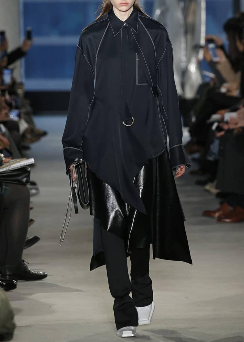 Proenza Schouler Long-Sleeve Shirtdress & Matching Items