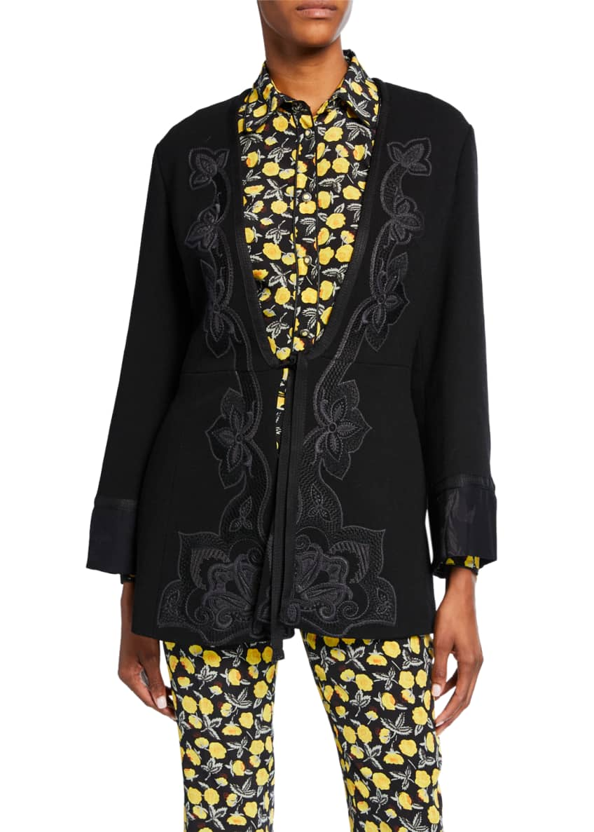 Etro Embroidered Jacket & Matching Items