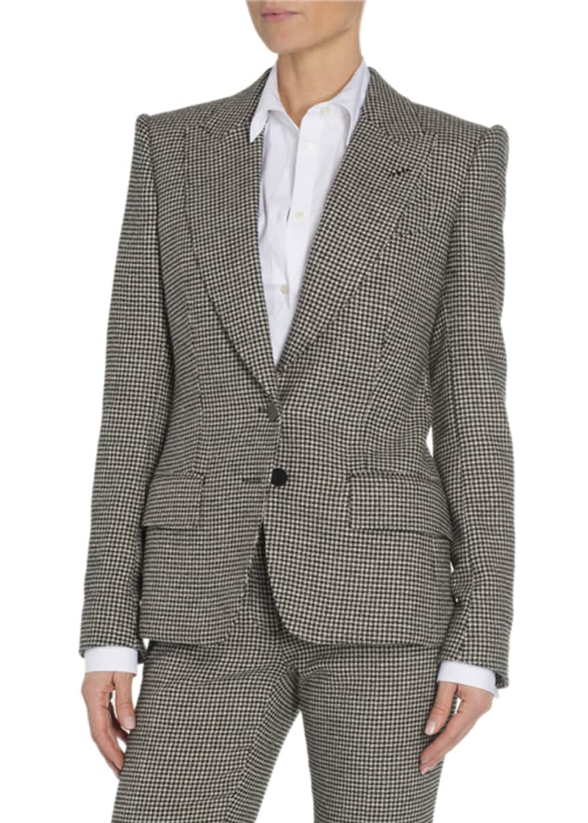TOM FORD Houndstooth Two-Button Jacket & Matching Items