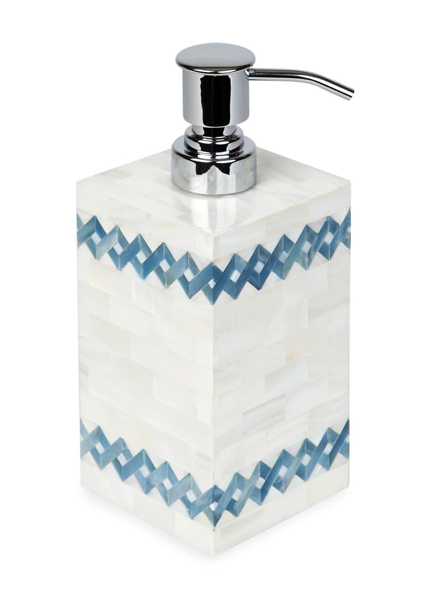 SV Casa Blue Weave Liquid Dispenser