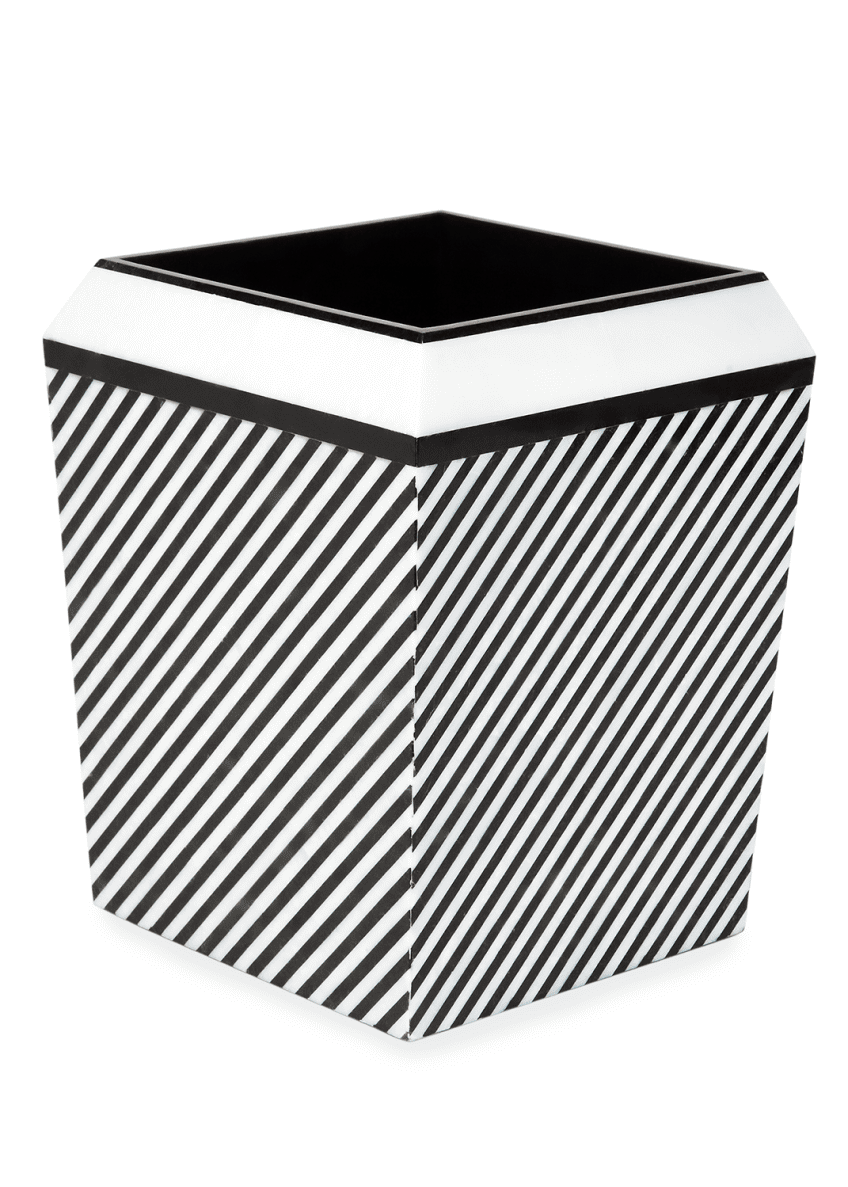 Image 1 of 1: Petra Collection Wastebasket