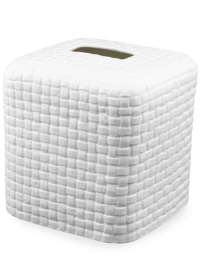 Image 1 of 1: Mandarin Collection Tissue Box Cover