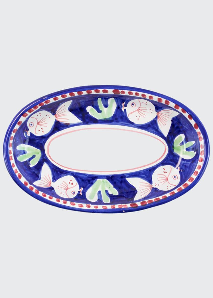 Image 1 of 1: Pesce Small Oval Tray