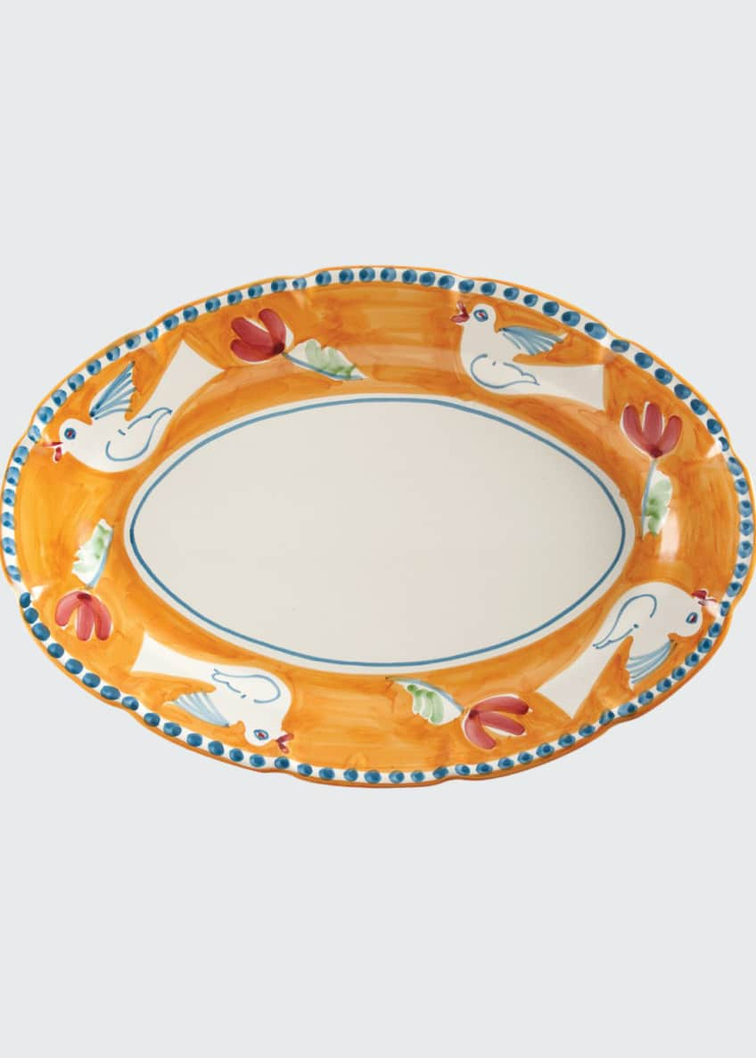 Image 1 of 1: Uccello Oval Platter