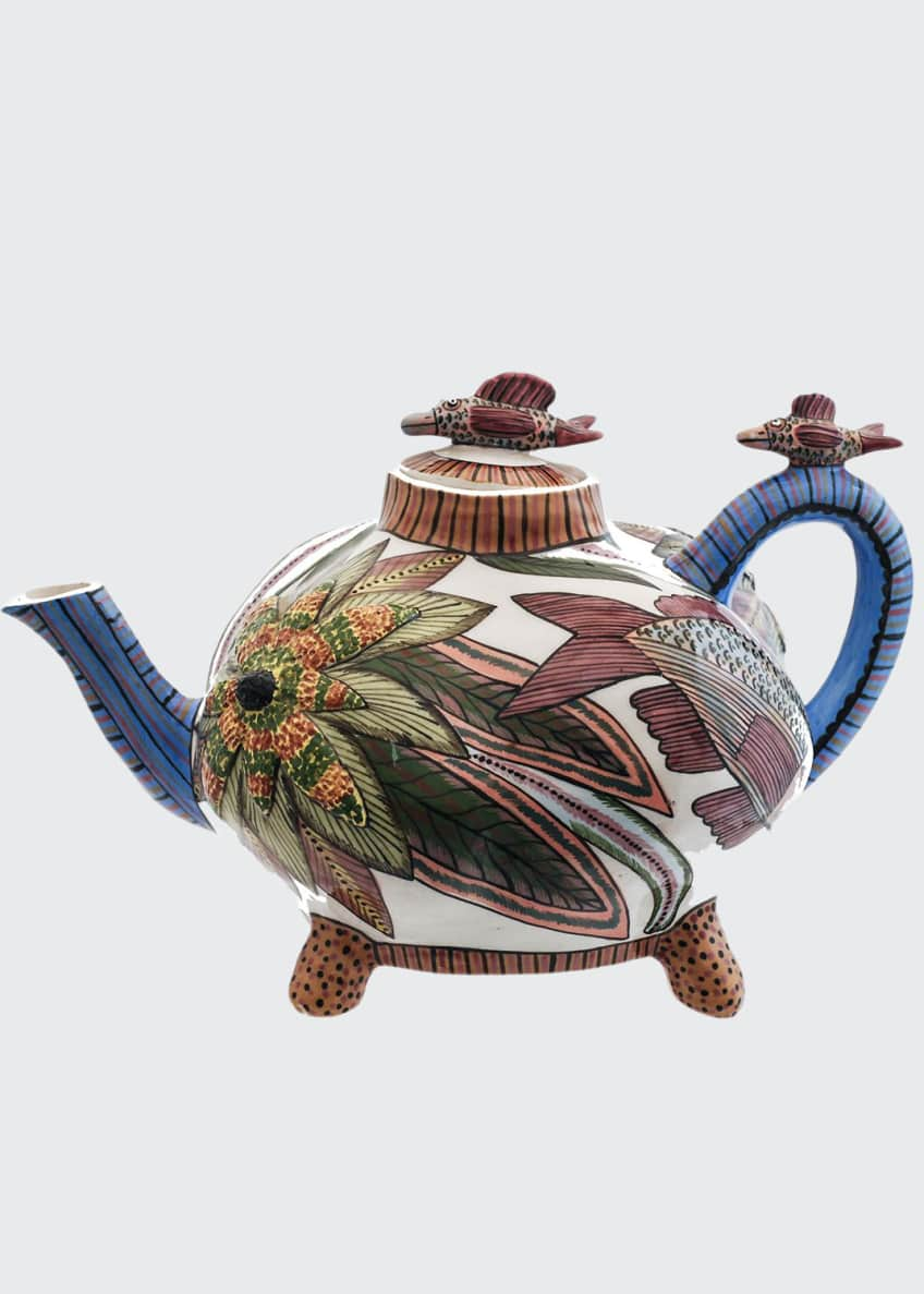 Image 1 of 1: Fish Teapot