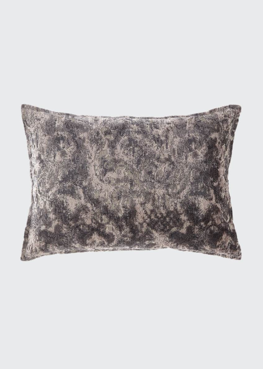 Image 1 of 1: Verbina Gray Chaise Pillow