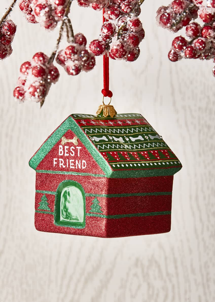 Joy To The World Collectibles Dog House Christmas