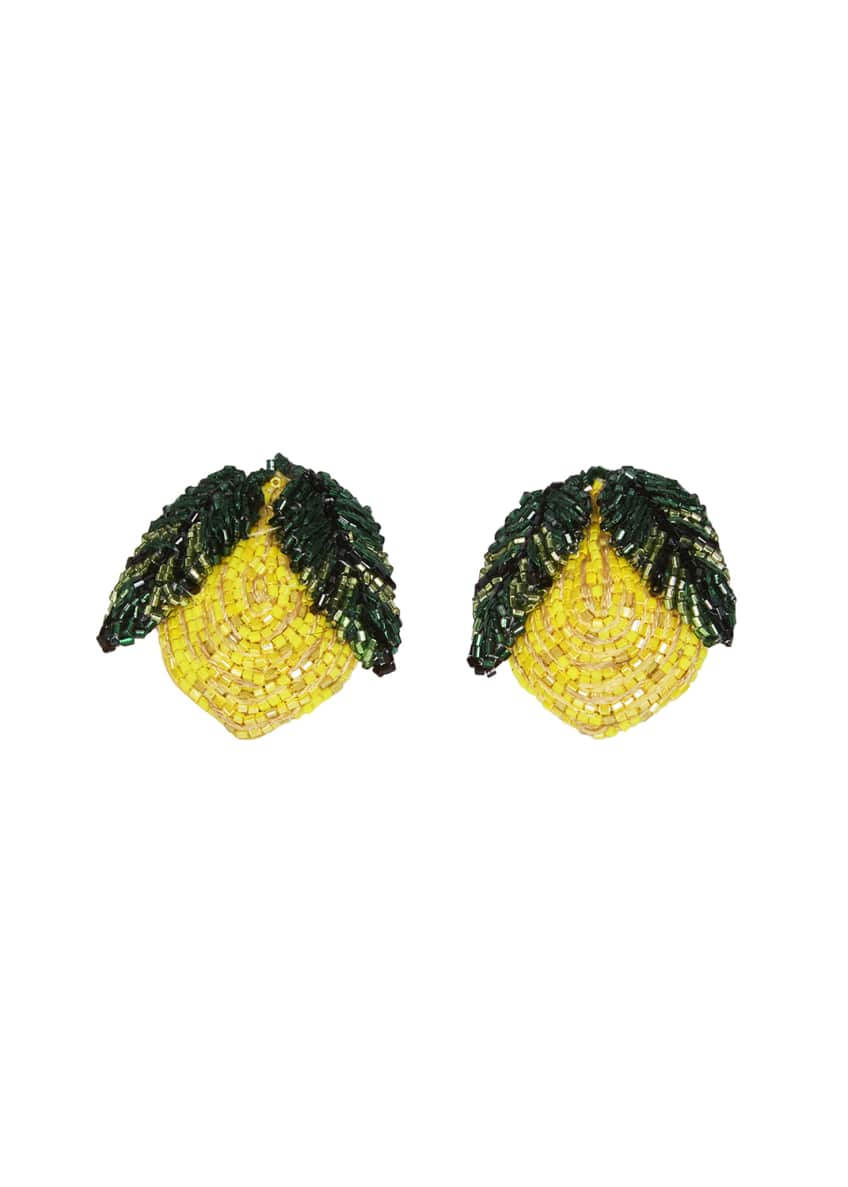 Mignonne Gavigan Lemon Stud Earrings