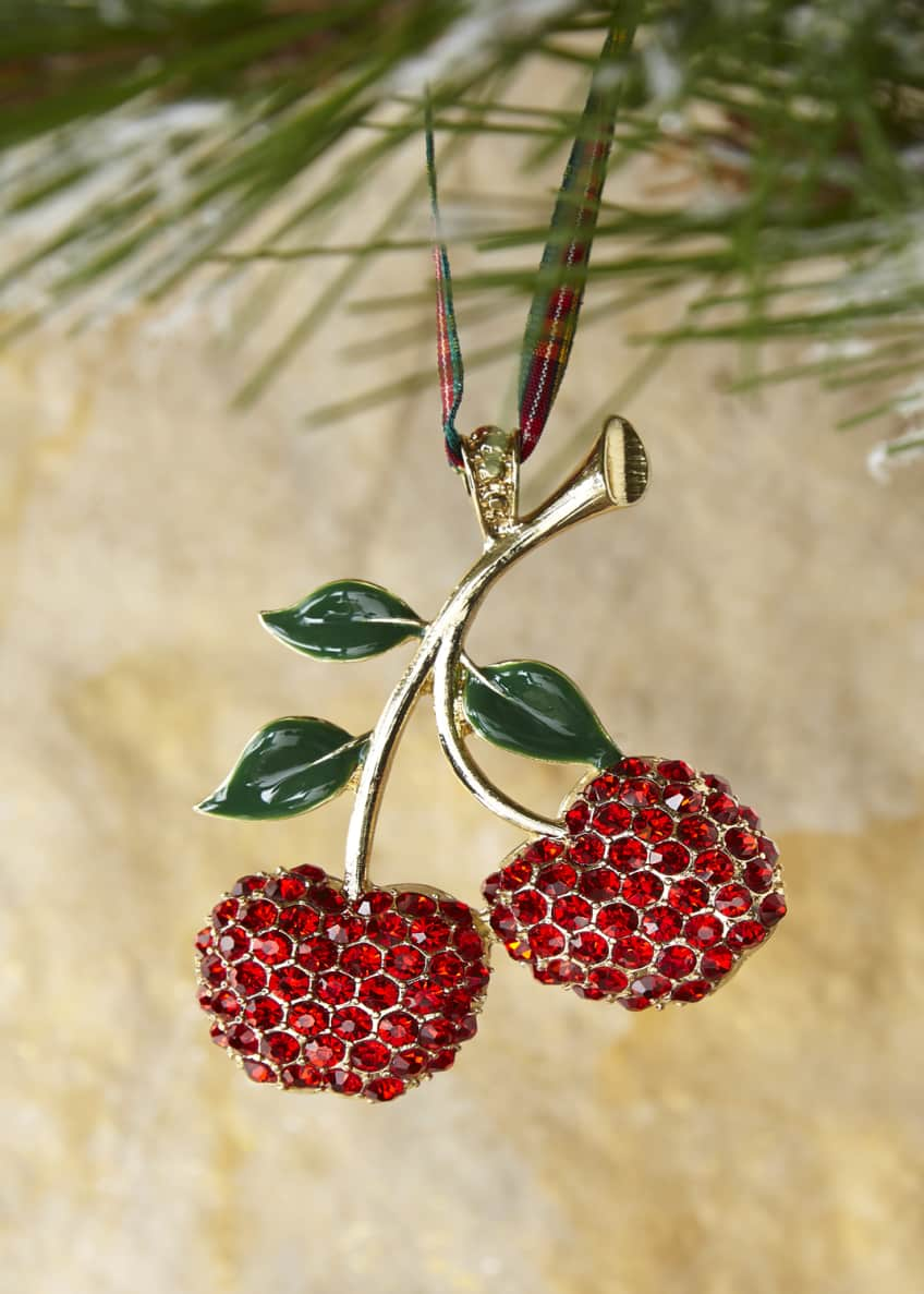 Joanna Buchanan Cherry Hanging Ornament
