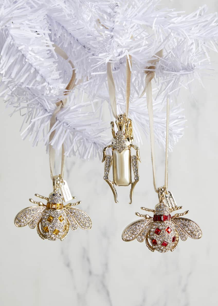 Joanna Buchanan Jeweled Bug Hanging Ornaments