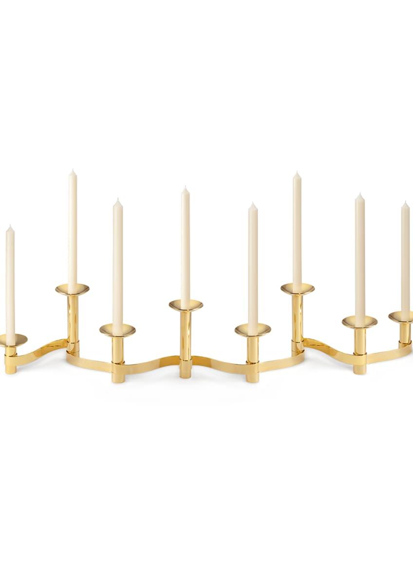 AERIN Evelina Candleholder Centerpiece, Set of 8 - Bergdorf Goodman