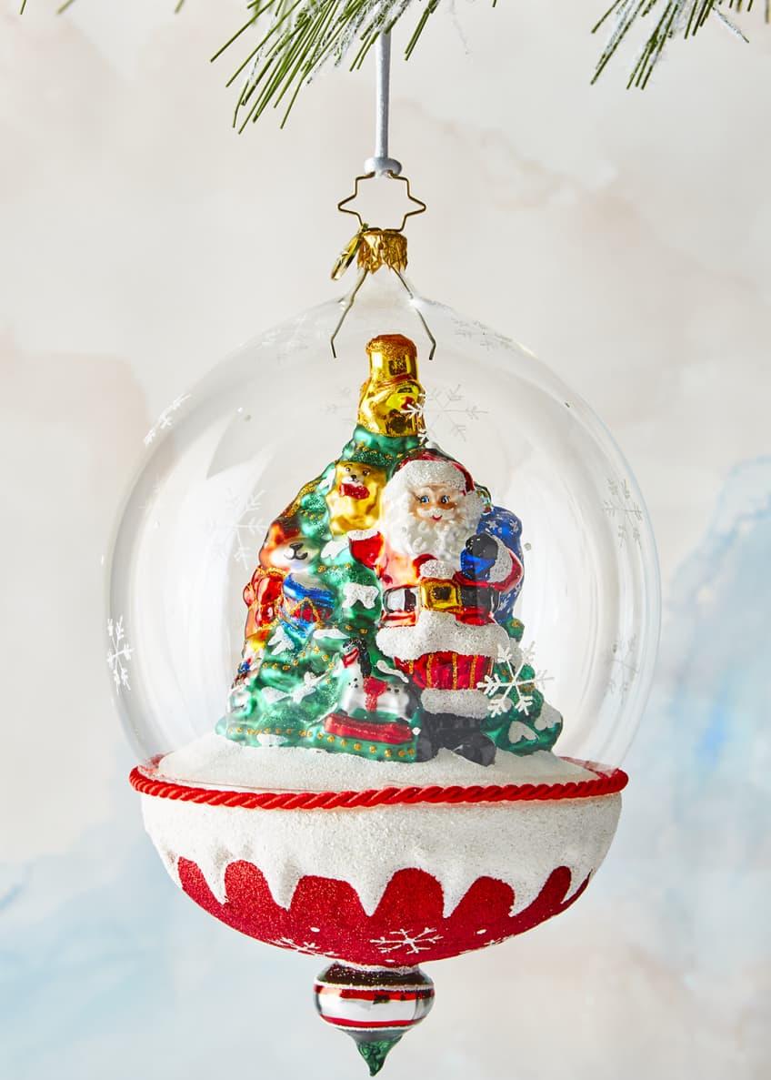 Christopher Radko Snow Dome of Toys Ornament