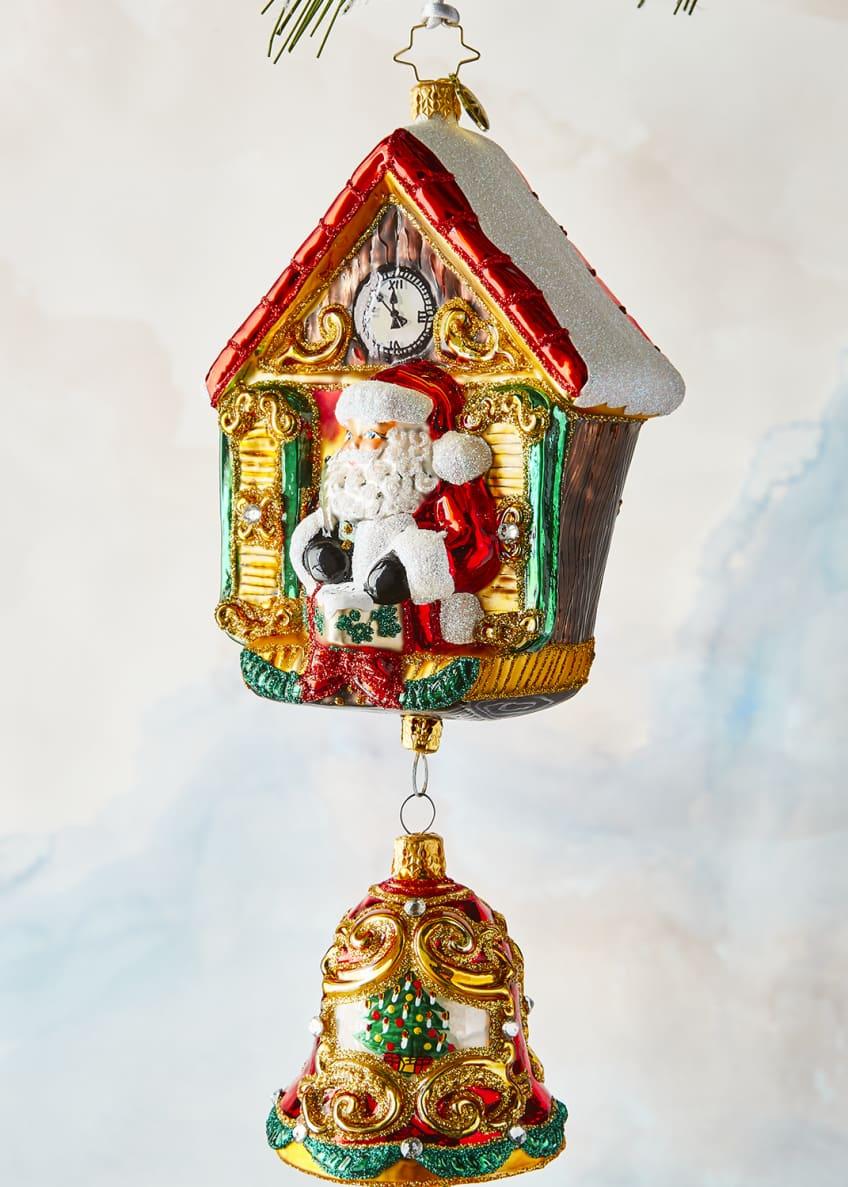 Christopher Radko Its Christmas Chime Ornament
