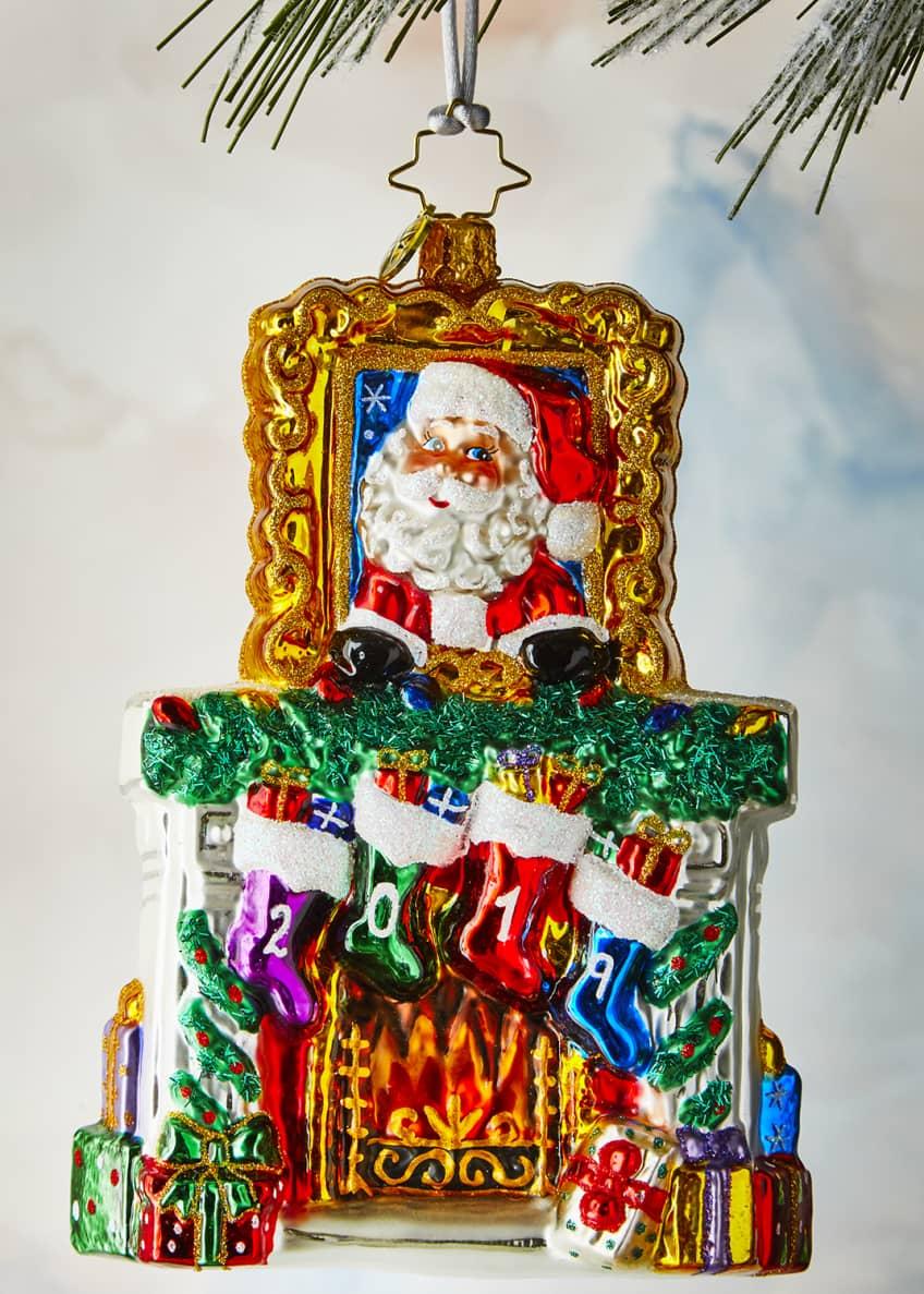 Christopher Radko 2019 Fireside Christmas Ornament