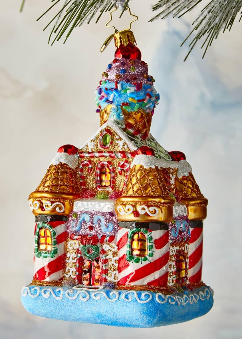 Christopher Radko Sweetest Castle Around Ornament