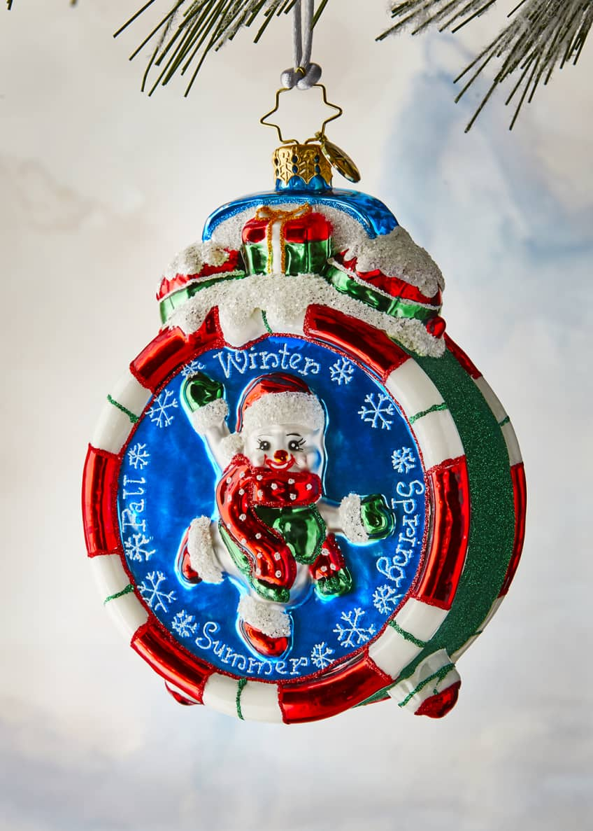 Christopher Radko Christmas Time Ornament