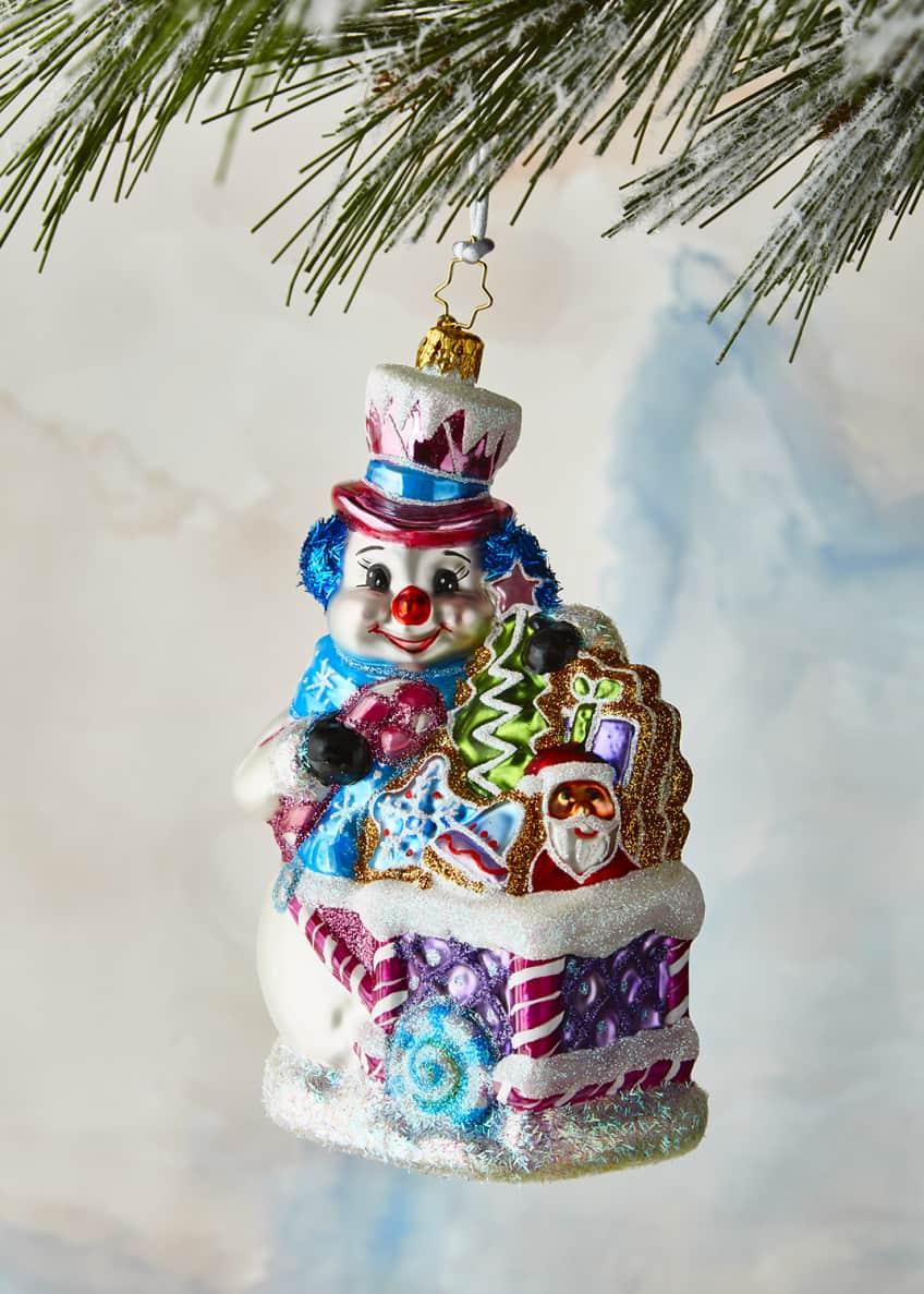 Christopher Radko Tasty Snow Confectionery Ornament