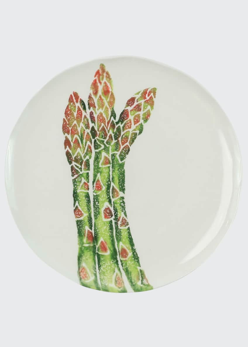 Image 1 of 1: Spring Vegetables Asparagus Salad Plate