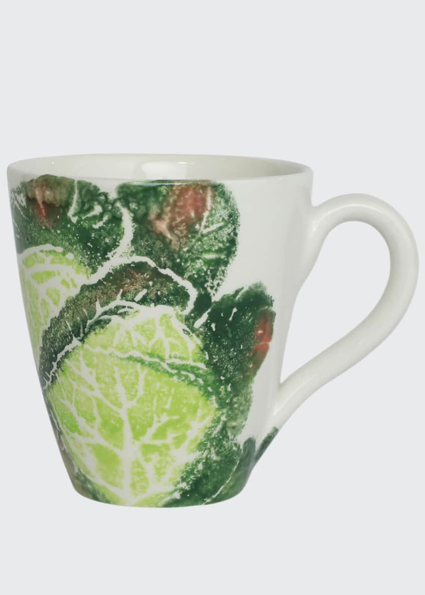 Image 1 of 2: Spring Vegetables Cabbage Mug