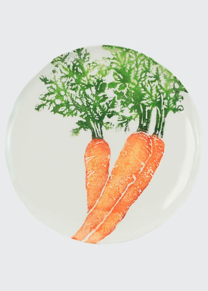 Image 1 of 2: Spring Vegetables Carrot Salad Plate
