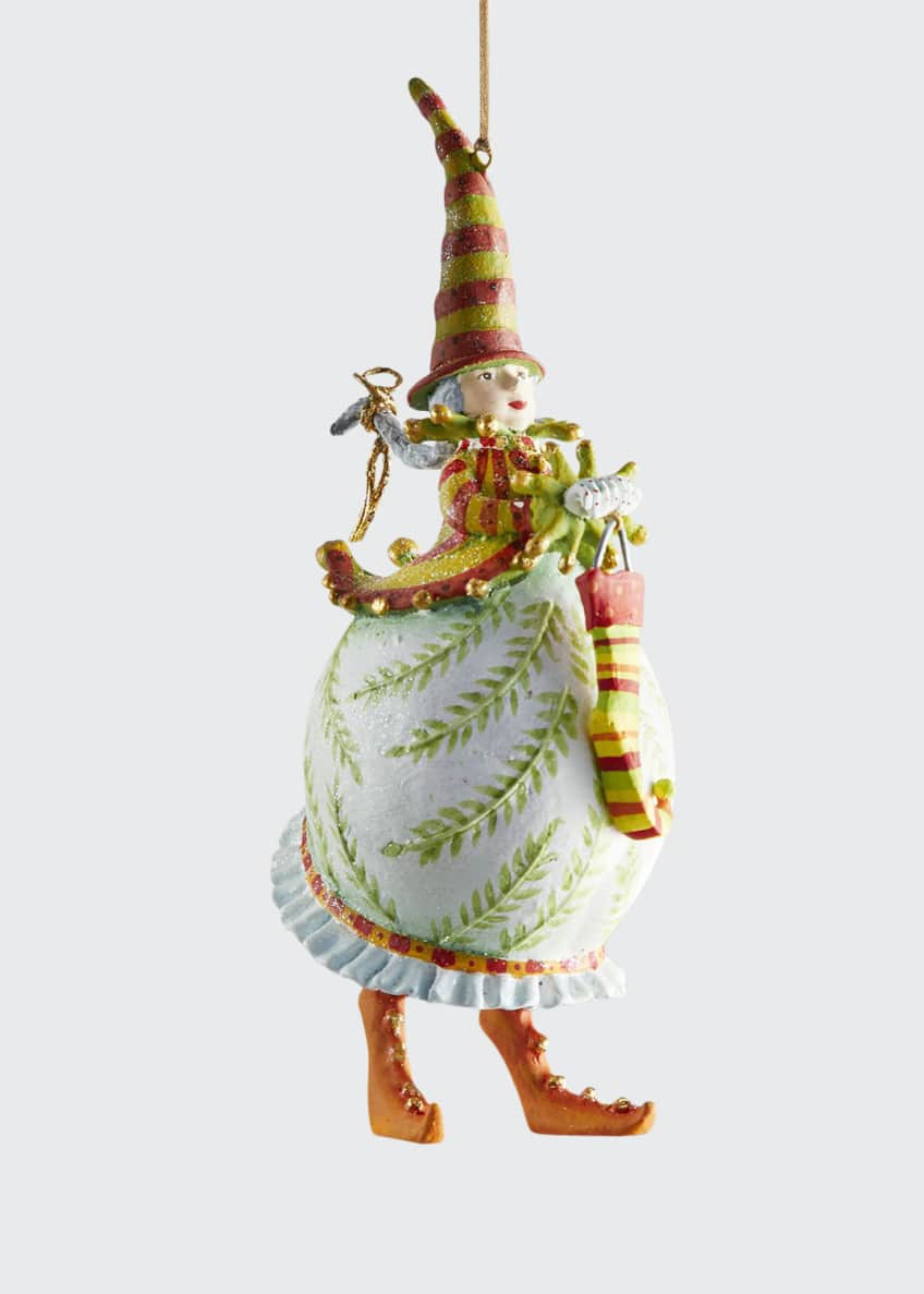 Image 1 of 1: Dash Away Mrs. Santa Ornament