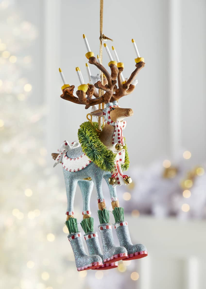 Image 1 of 1: Dash Away Dasher Reindeer Ornament
