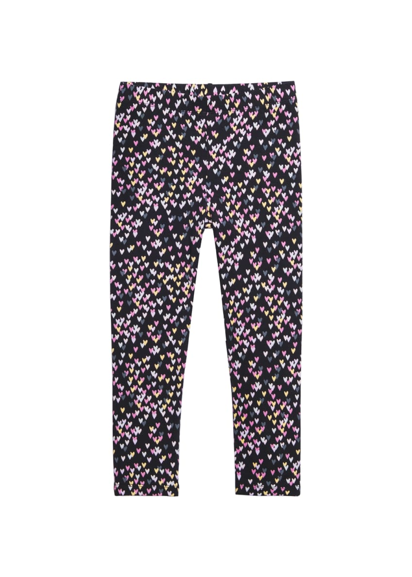 Imoga Allover Heart Print Leggings, Size 4-6 &