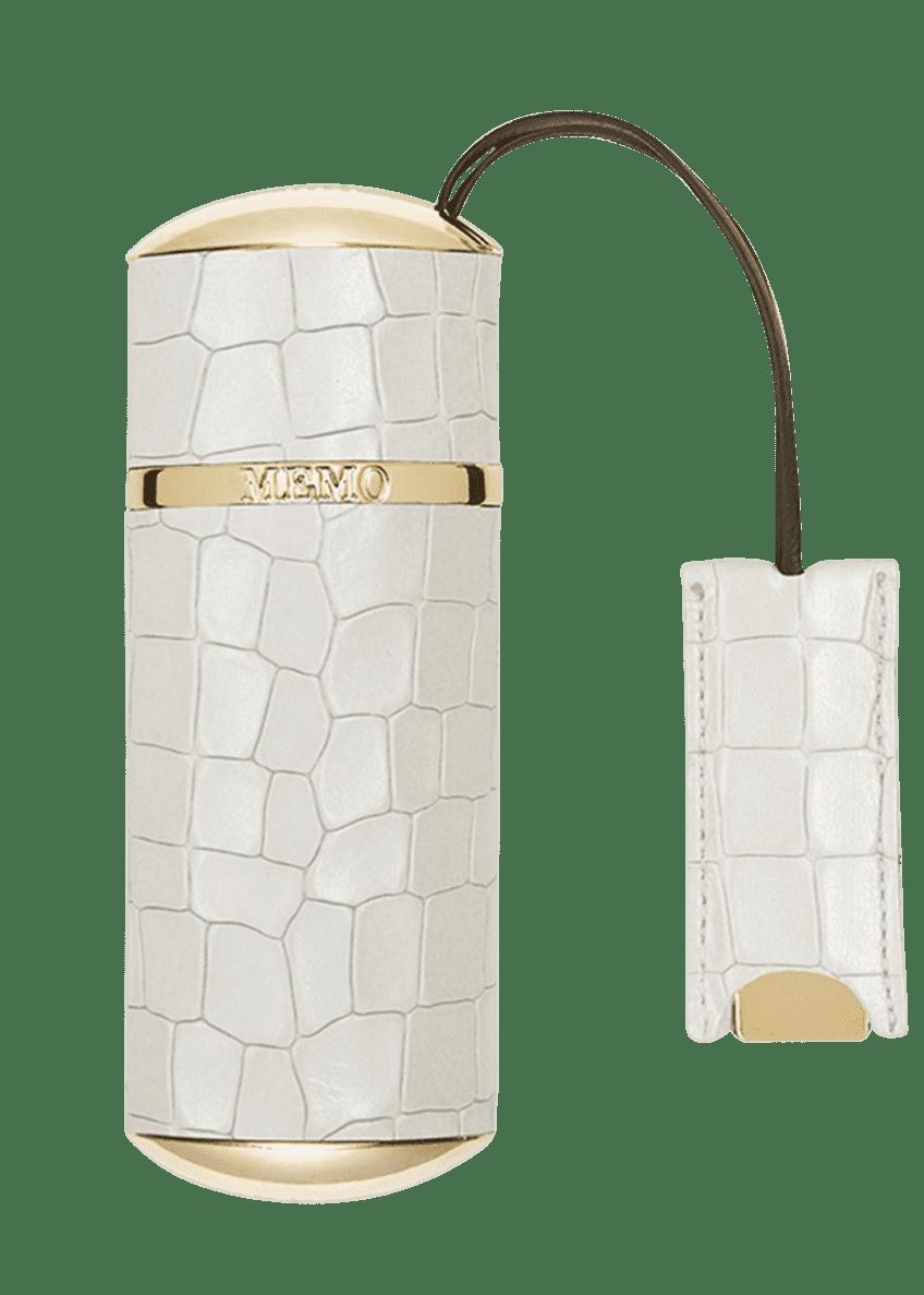 Memo Paris White Crocodile Travel Case - Bergdorf Goodman